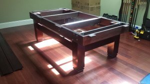Correctly performing pool table installations, San Diego California