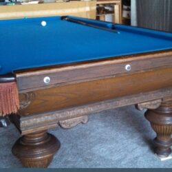 Adler Antique 4 1/2'x9' Pool Table
